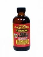 Jamaican Mango And Lime Black Castor Oil ARGAN 4 oz