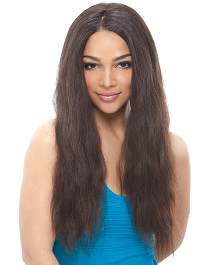 Janet Brazilian Natural Virgin Remy Human Hair Lace Wig