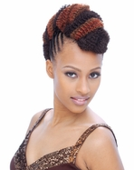 """Janet Collection Afro Kinky Bulk Hair 24"""""""