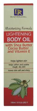 DR LIGHTENING BODY OIL WITH SHEA BUTTER COCOA BUTTER & VITAMIN E