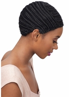 Model Model Braided Cap For Crotchet Braids and Weaves