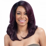 Model Model Deep Invisible 3 Way Part Lace Front Wig � Breezy