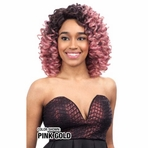 Model Model Deep Invisible Part Lace Wig FANCY CURL