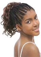 MODEL MODEL Drawstring PonyTail Pristeen