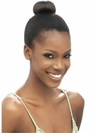 MODEL MODEL Synthetic Hair Bun BLUEBERRY - SMALL