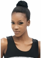 MODEL MODEL Synthetic Hair Bun RASPBERRY - MEDIUM