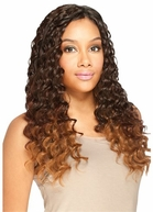 Model Model Pose Invisible Loose Deep Long 5Pcs Weave