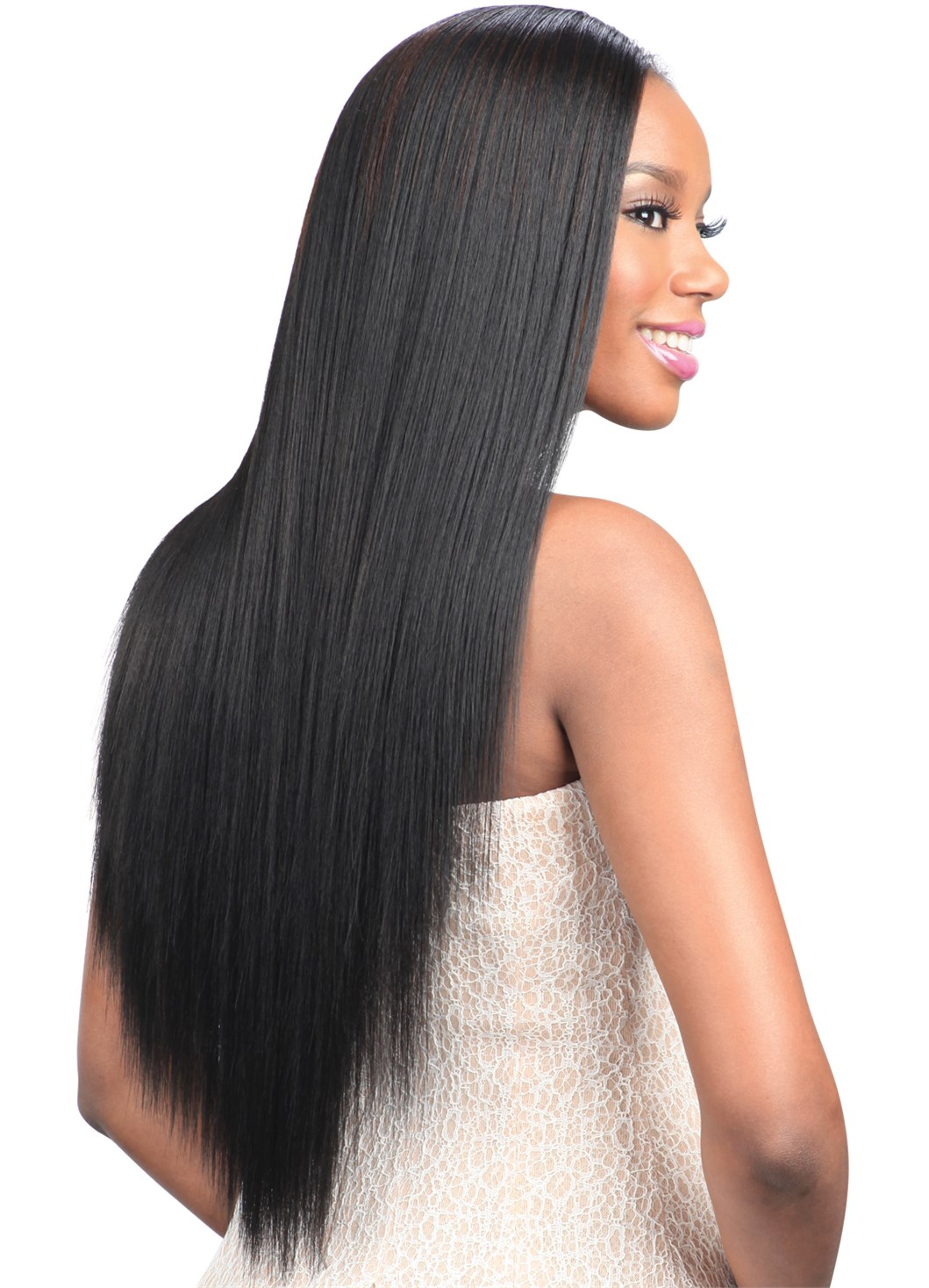 Model Model Pose Peruvian HYDRO Pressed YAKY Weave 7PCS 14 16 18