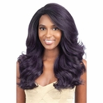 Model Model Synthetic Deep Invisible L Part Lace Front Wig BLUE MEADOW