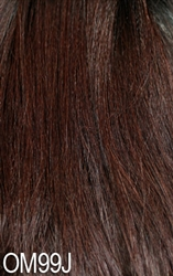 Model Model Synthetic Lace Deep Invisible Part Lace Front Wig - PERUVIAN FOXY DEEP