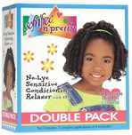 Sofn'Free n' Pretty No-Lye Sensitive Conditioning Relaxer with ESP (Regular) Double Pack