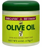 Organic Root Stimulator Olive Oil, Extra Rich for Dry, Thirsty Hair
