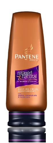 Pantene Pro-V Relaxed & Natural Daily Oil Cream Moisturizer 10 oz
