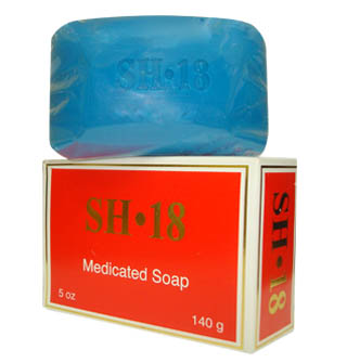 SH18 Medicated Soap (Red) 5oz