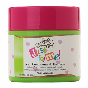 Soft and Beautiful Just for Me! Scalp Conditioner & Hairdress 3.4 oz (96.3 g)
