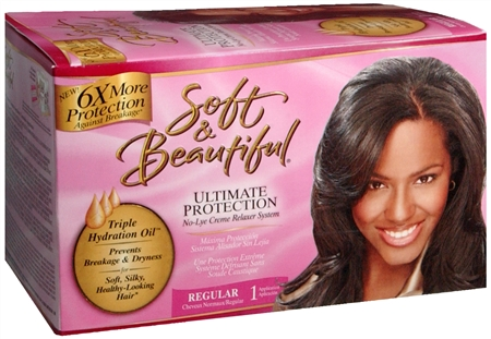 SOFT AND BEAUTIFUL ULTIMATE PROTECTION NO LYE CREAM RELAXER