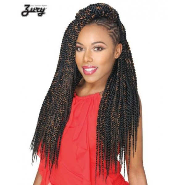 Zury Crotchet Braid Senegalese Big Braids 20 inches