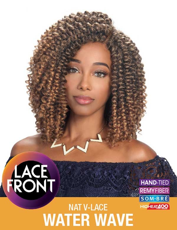 ZURY NAT V-LACE WATER WAVE WIG