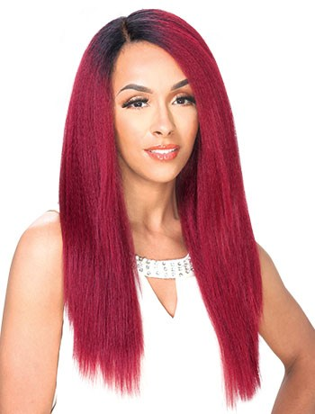 Zury Sis Synthetic Hair Swiss Lace Pre Tweezed Part Wig SW LACE H CHIA