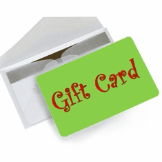 Gift Cards, Online Gift Certificates $100