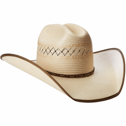 d7d0284f7 Justin 50X Sonoma Two Tone with Brown Bound Edge Straw Hat