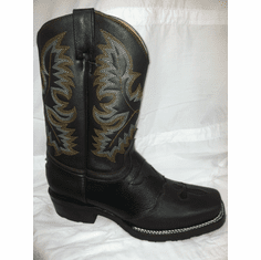 RODEO BOOTS Black with Brown