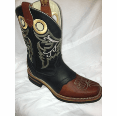Rodeo Boots Black with Sheridan