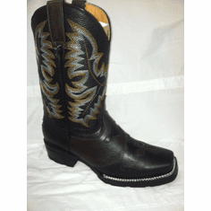 RODEO BOOTS Brown with Black