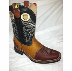 Rodeo Boots Honey with Wine