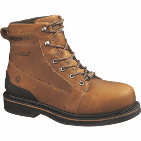 "Triad: Wolverine Durashocks® 6"" 3D Waterproof Boot"