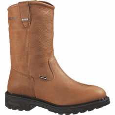 "Wolverine DuraShocks® Slip Resistant Gore-Tex® Waterproof Non-Insulated 10"" Wellington"