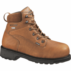 "Wolverine DuraShocks® Slip Resistant Gore-Tex® Waterproof Non-Insulated 6"" Work Boot"