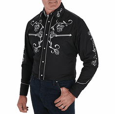 WRANGLER Black Long Sleeve