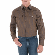 WRANGLER Brown Long Sleeve
