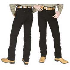 Wrangler® Cowboy Cut™ Black Slim Fit  Jeans #936