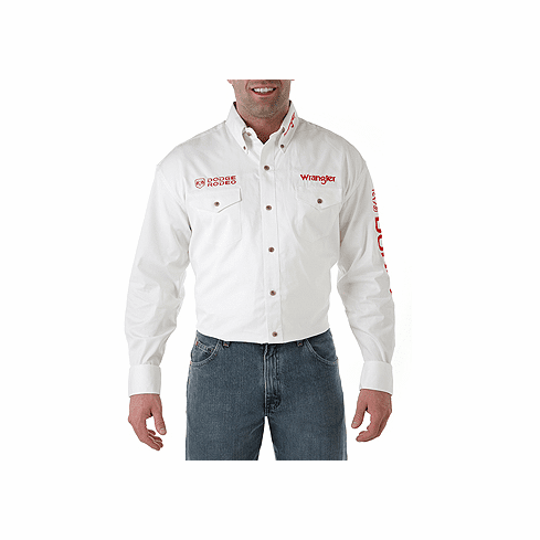 -WRANGLER DODGE White Long Sleeve