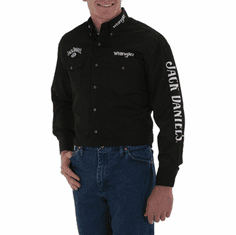 -WRANGLER Jack Daniels Black Long Sleeve