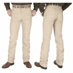 Wrangler® Men's Cowboy Cut™ Tan Slim Fit Tall Jeans