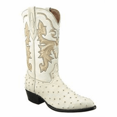 Youth Ostrich Boots Print