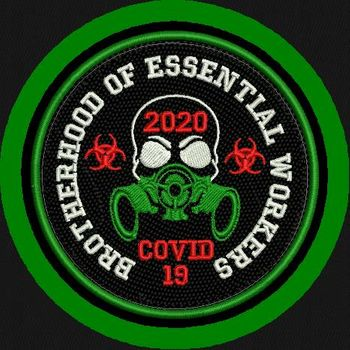 "<p>Brotherhood of Essential Workers <strong style=""color:red;"">MADE IN THE USA</strong></p>"