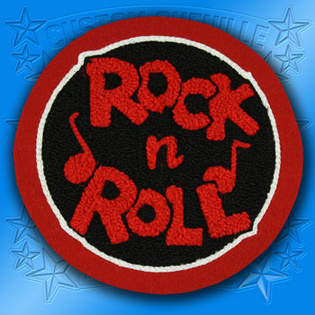 Chenille Rock N Roll Patch