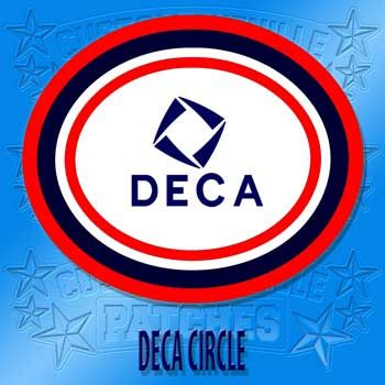 Deca Circle Chenille Patch