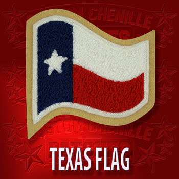<h2>Waiving Texas Flag</h2>
