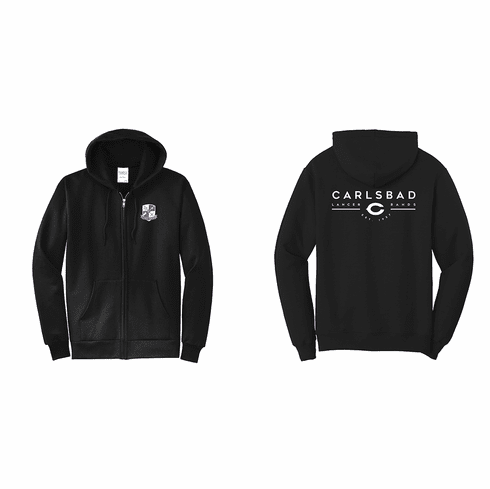 Carlsbad High School Lancer Band  Sweatshirt - Zip