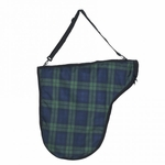 Centaur Classic Plaid Saddle Bag