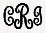 Curly Monogram
