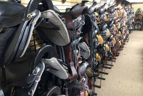In Stock Western Saddle Inventory