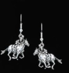 Derby Horse Earrings