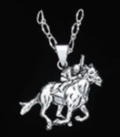 Derby Horse Necklace