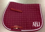 *ADD* Embroidered Monograms to Saddle Pad